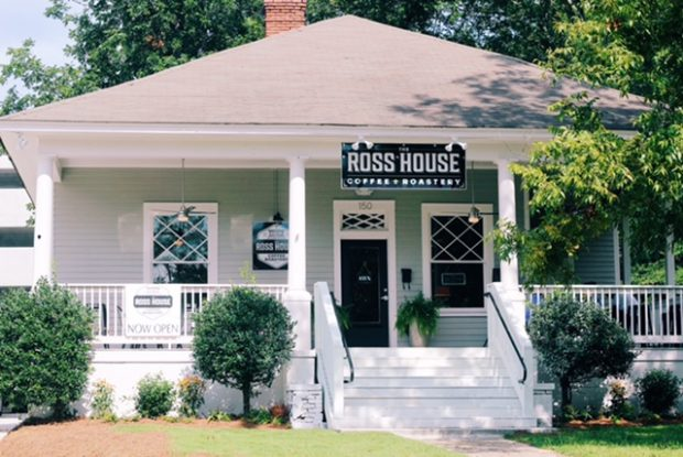 New Ross House Roastery Saves 110-Year-Old House in Auburn, Alabama