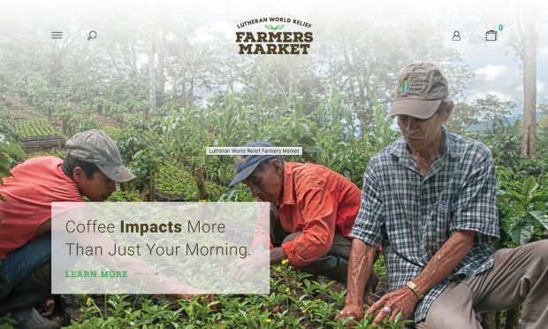 With Thrive Partnership, Lutheran World Relief Launches Farmer-Forward Coffee Line