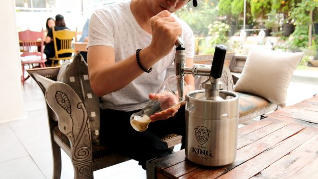 Nitro King Hopes to Give Home Cold-Brewers the Royal Treatment