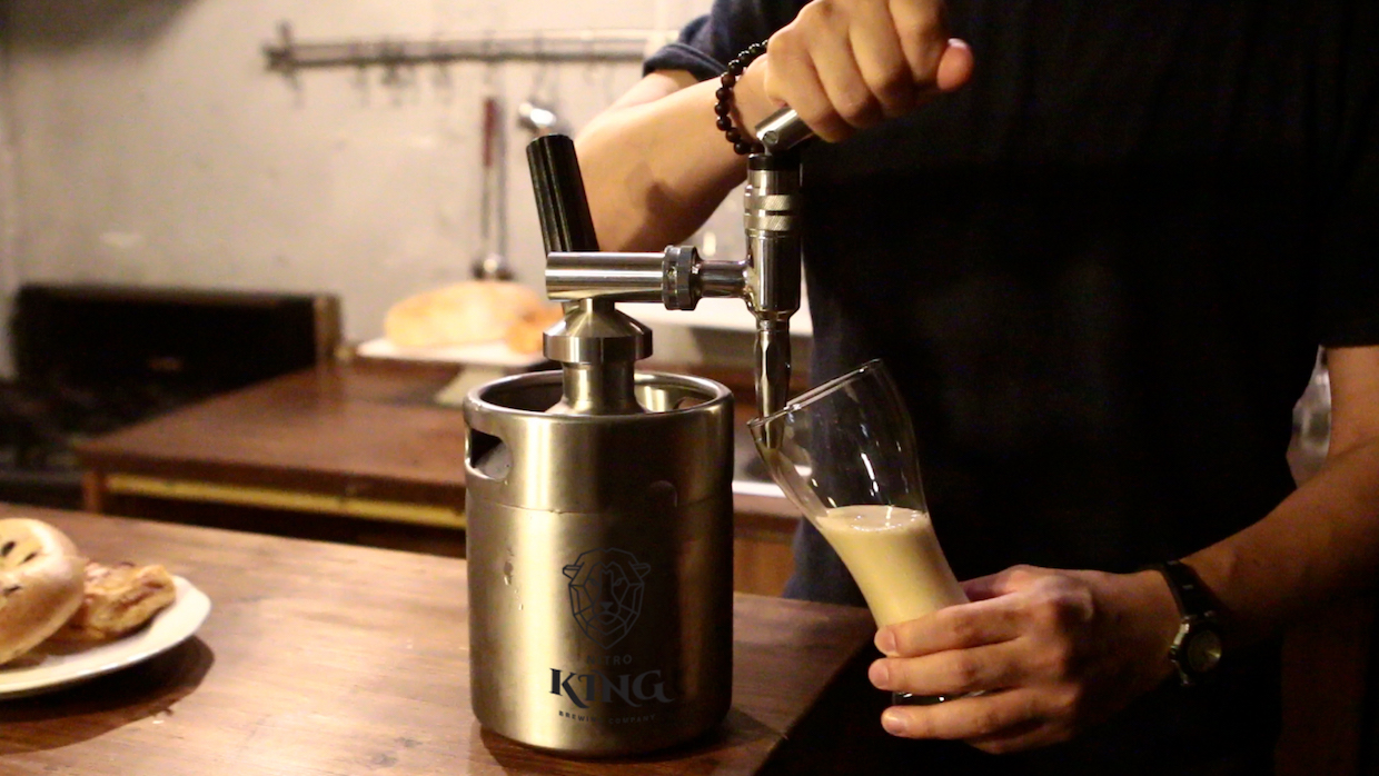 Nitro King Hopes To Give Home Cold Brewers The Royal