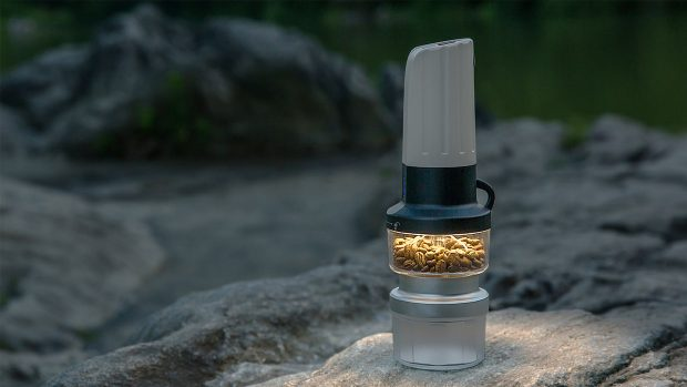The Future Looks Bright for the Lume Portable Grinder/Flashlight