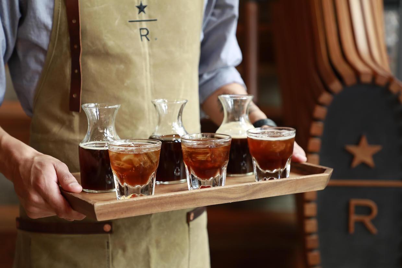 Starbucks cold-pressed espresso