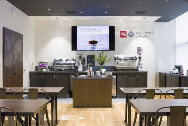 In San Francisco, Illy Opens its First US 'University' Location