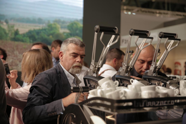La Leva espresso machine la marzocco