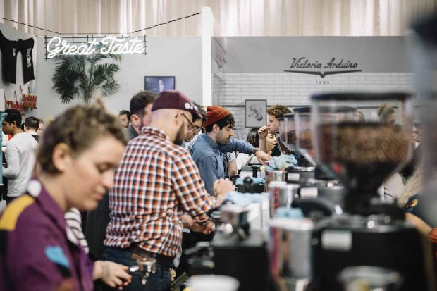 Scenes from the Bustling 2017 New York Coffee Festival
