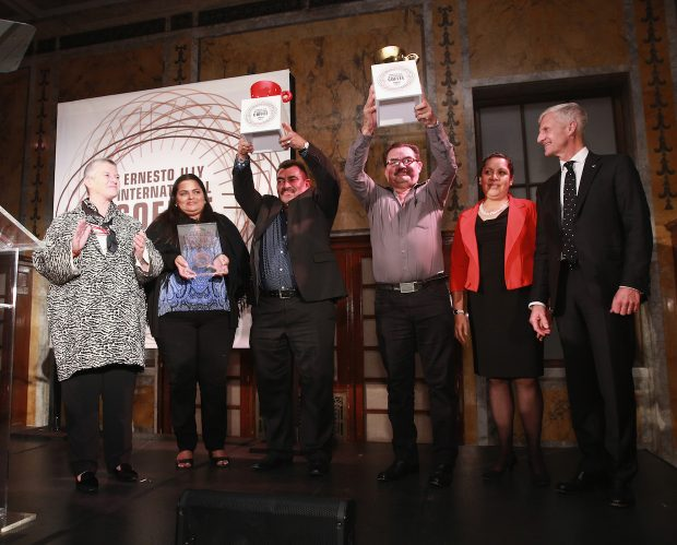 United by Coffee at the 2nd Illy International Coffee Awards in New York