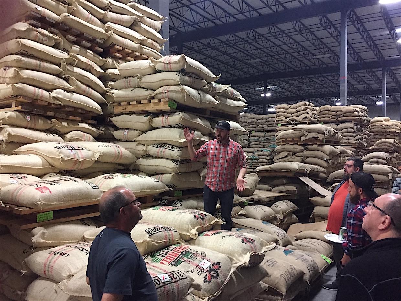 cafe imports warehouse