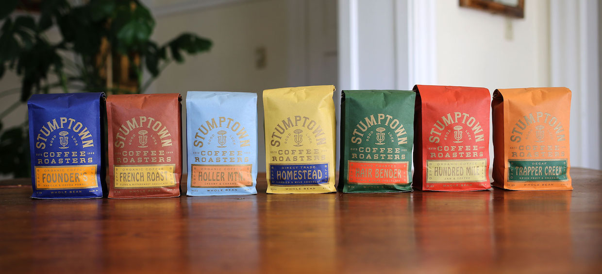 Stumptown Retires Brown Paper Bags In Favor Of New Logo More Color Daily Coffee News By Roast Magazinedaily Coffee News By Roast Magazine