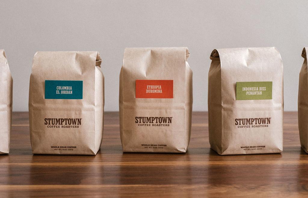 The Former Stumptown Coffee Bags