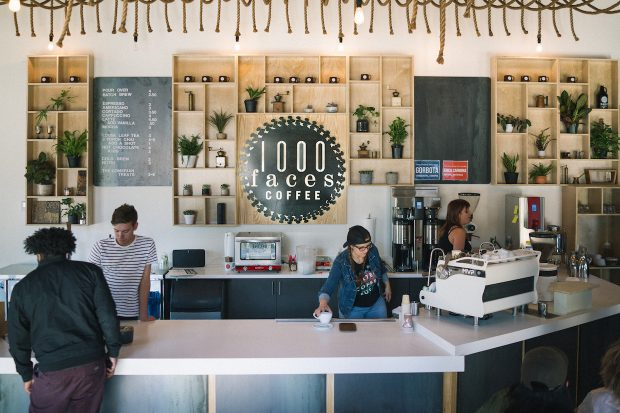 1000 Faces Smiling in Athens (GA) as New Roastery Café Opens