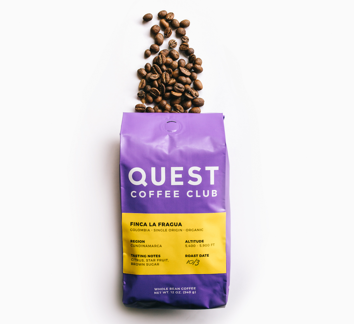 quest coffee club colombia to indianapolis