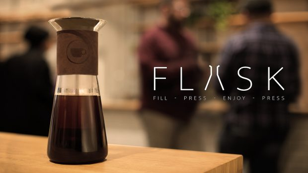 Alpha Dominche Unveils Its First Home Brewer 'The Flask'
