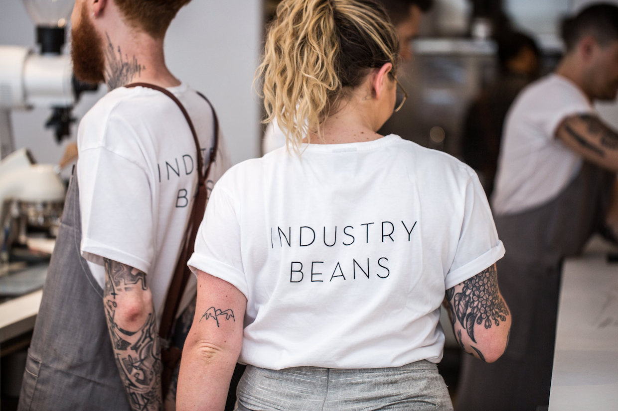 Industry Beans coffee Melbourne