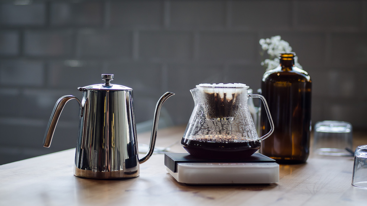 origin decanter trinity coffee brewing equipment