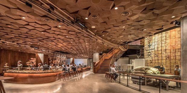 Inside the 30,000-Square-Foot Starbucks Reserve Roastery in Shanghai