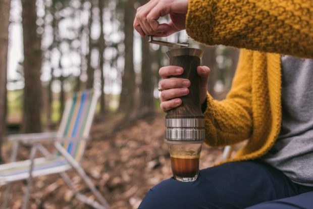 The Aram Espresso Maker Puts a New Twist On Travel-Friendly Extractions