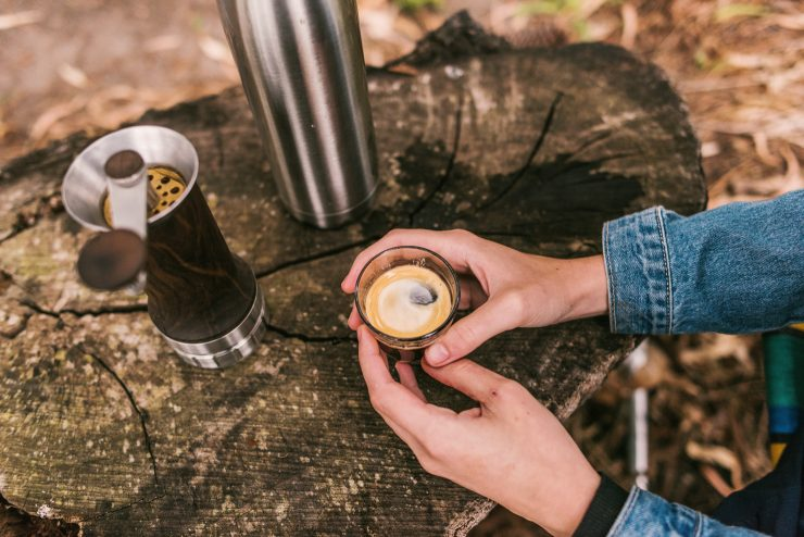 Aram manual portable espresso maker