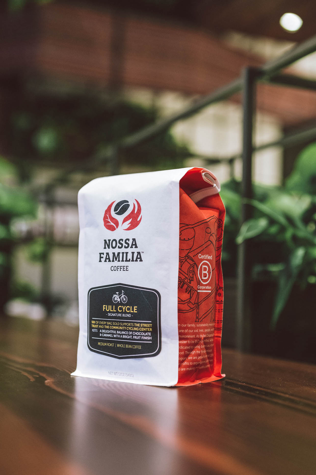 nossa familia coffee bags