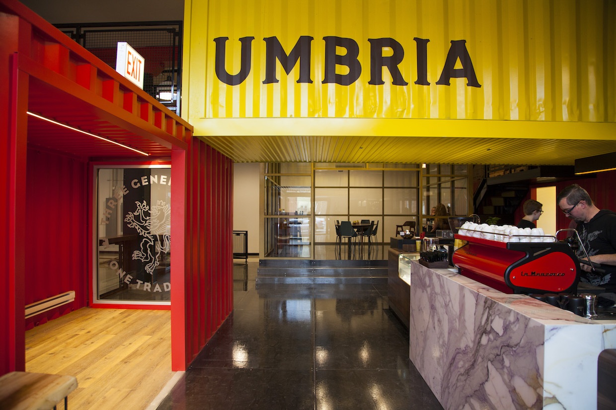 Caffe Umbria Chicago bar roastery coffee