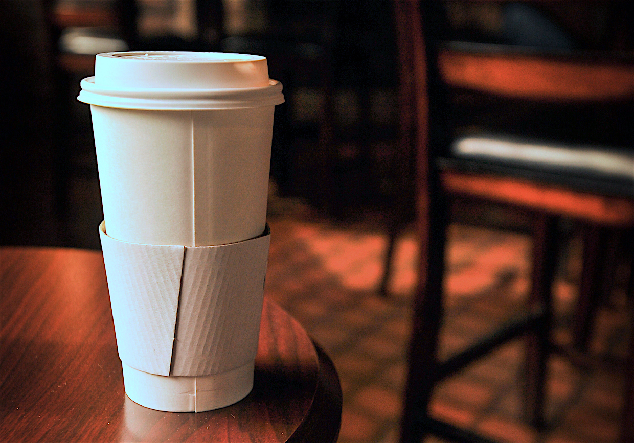 British parliamentary committee recommends levy on take-away coffee cups