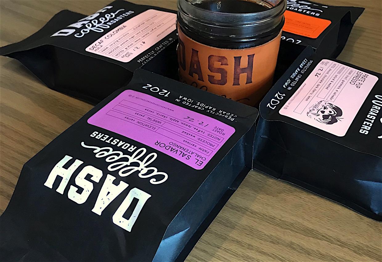 Dash Coffee Roasters cafe Cedar Rapids Iowa