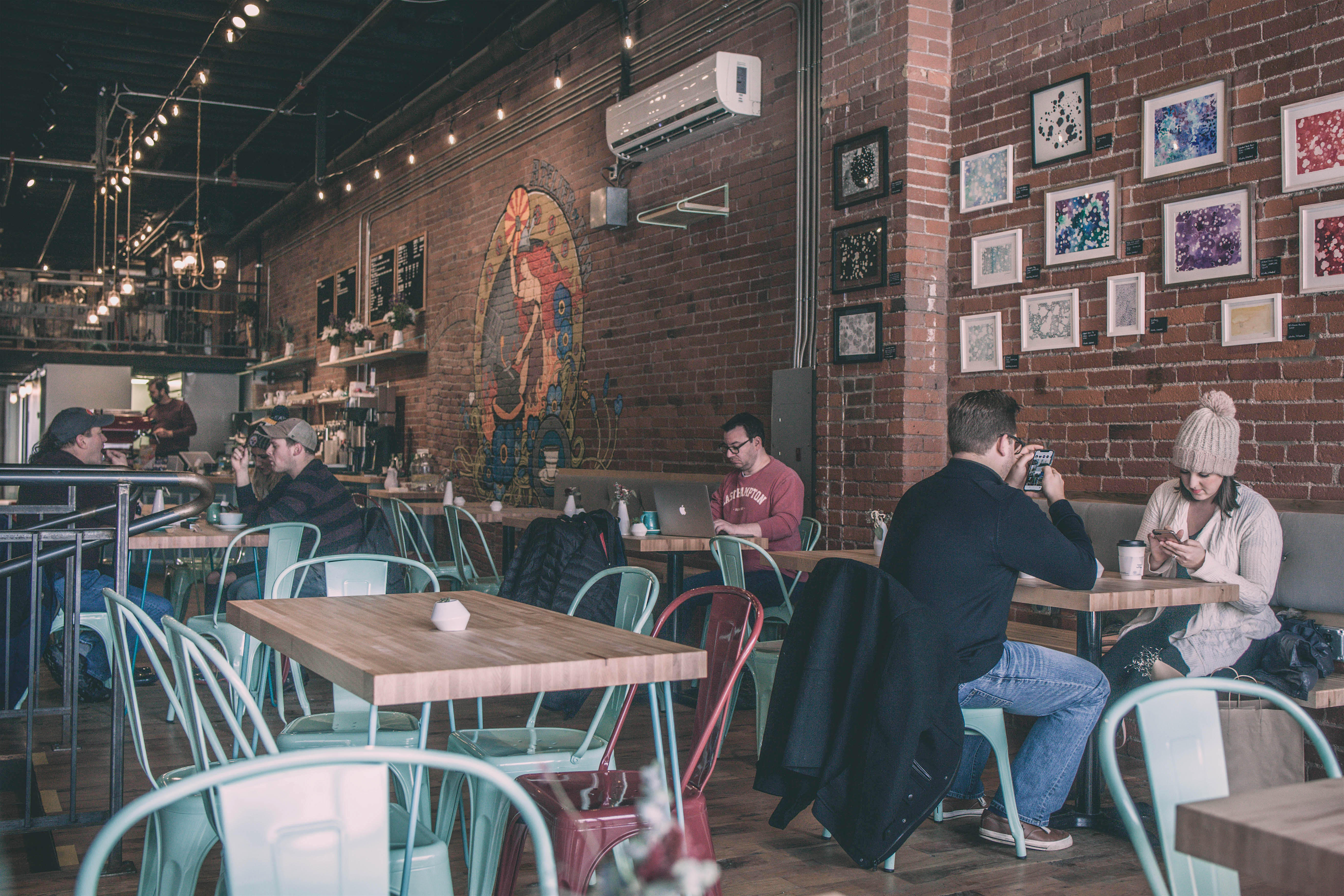 de fer coffee cafe Pittsburgh
