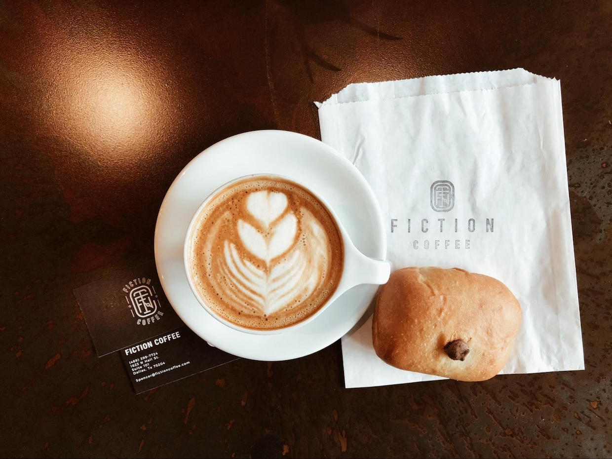 fiction coffee dallas texas