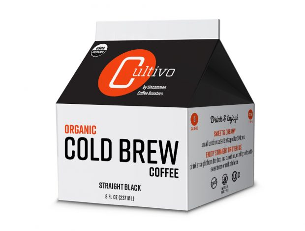 Organic Cold Brew Line Leads Uncommon Coffee Roasters' New Brand Cultivo