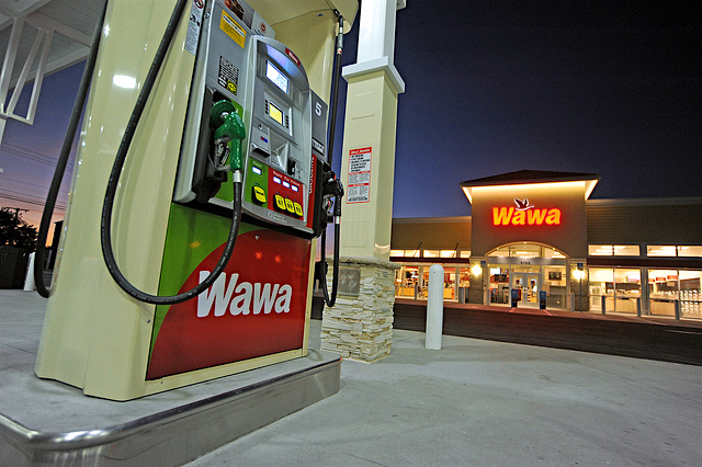 wawa convenience store gas station logo