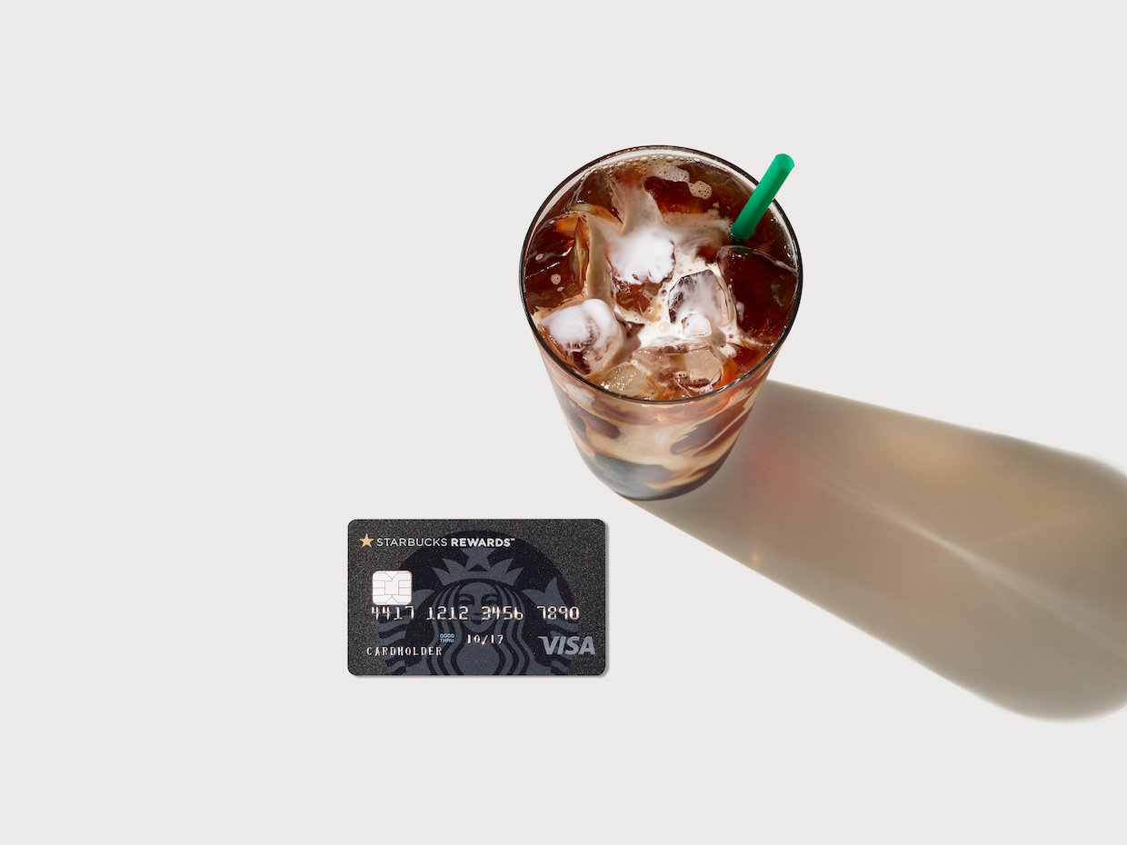 starbucks visa rewards card