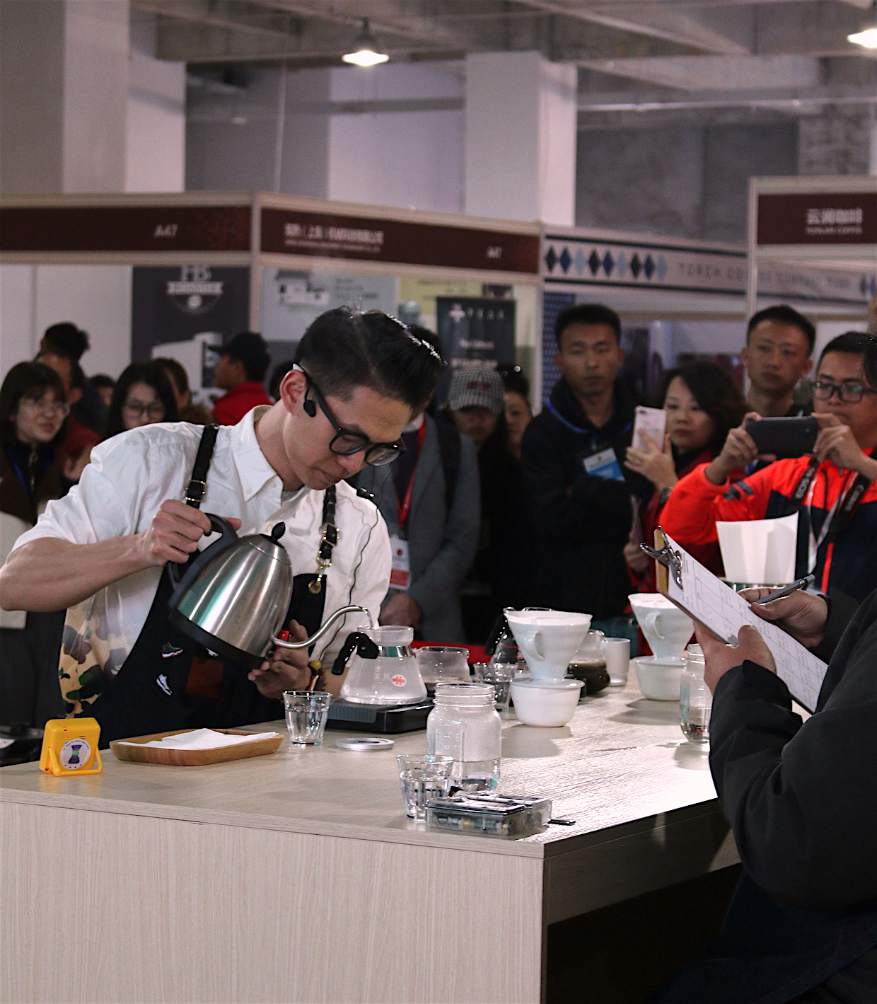 pu'er specialty coffee expo yunnan china