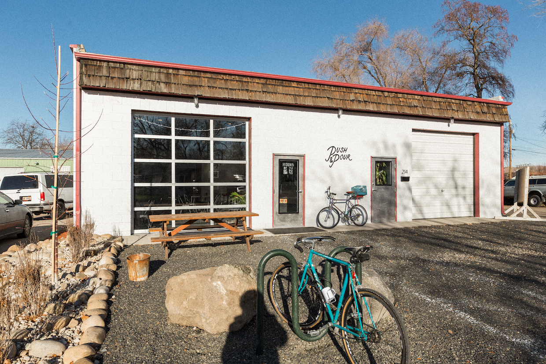 push and pour coffee cafe roaster Boise garden city Idaho