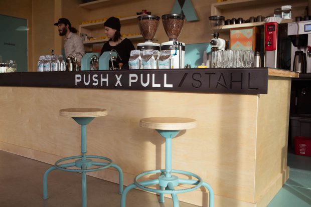 push x pull coffee portland roaster cafe