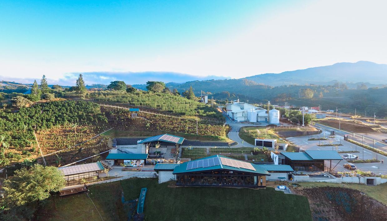 Hacienda alcasia starbucks costa rica