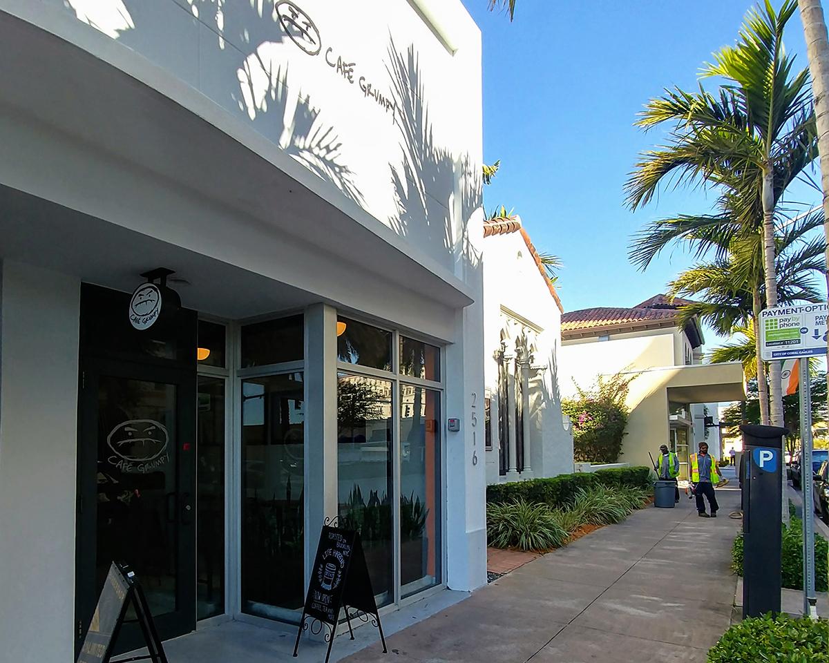 cafe grumpy coffee shop coral gables