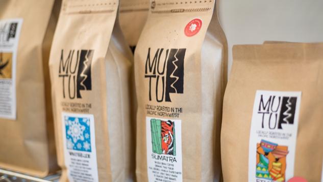 Mutu coffee beans