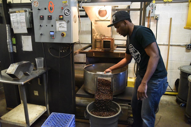 coffee roaster fluid bed