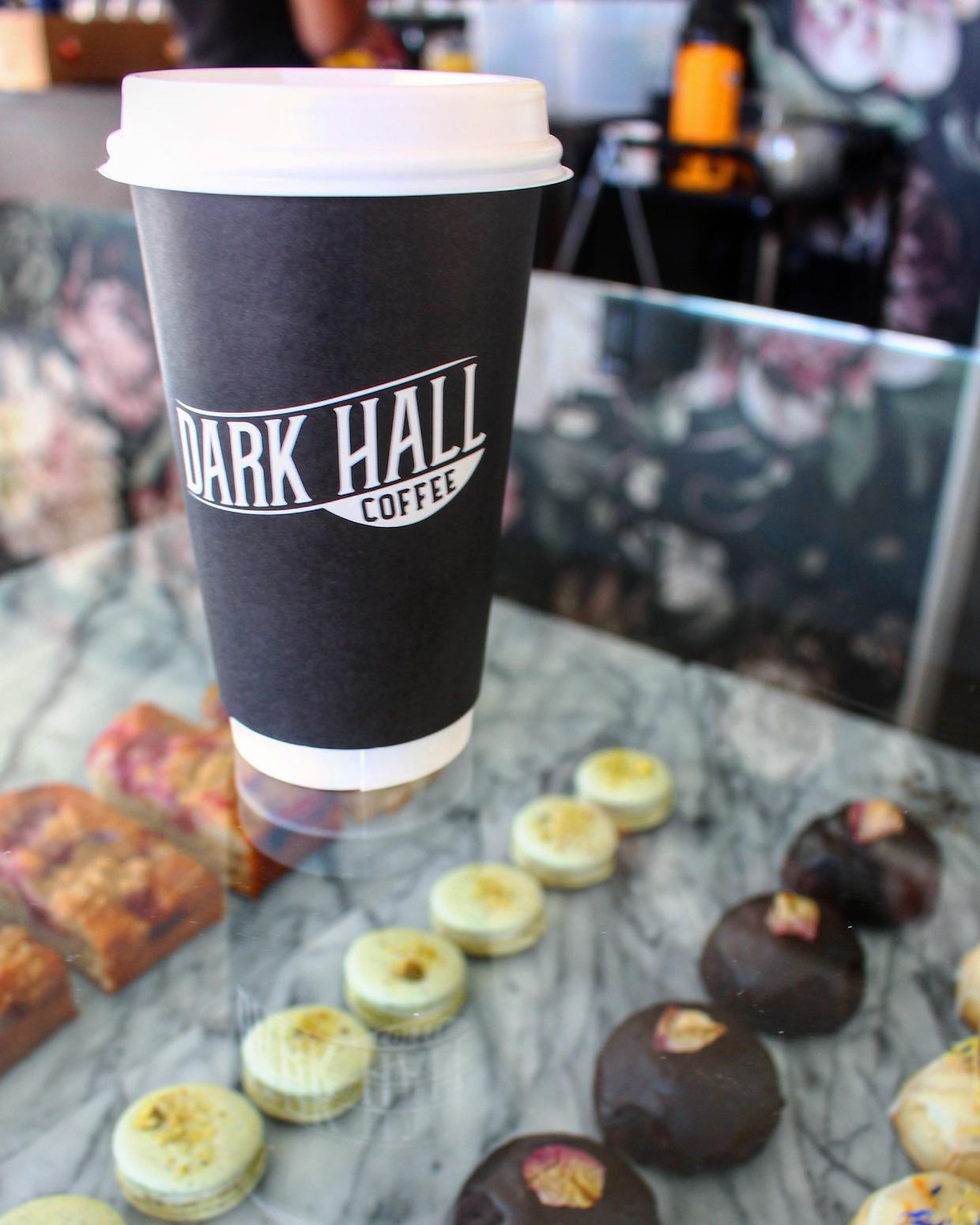 Dark Hall Coffee roaster vegan Arizona Phoenix