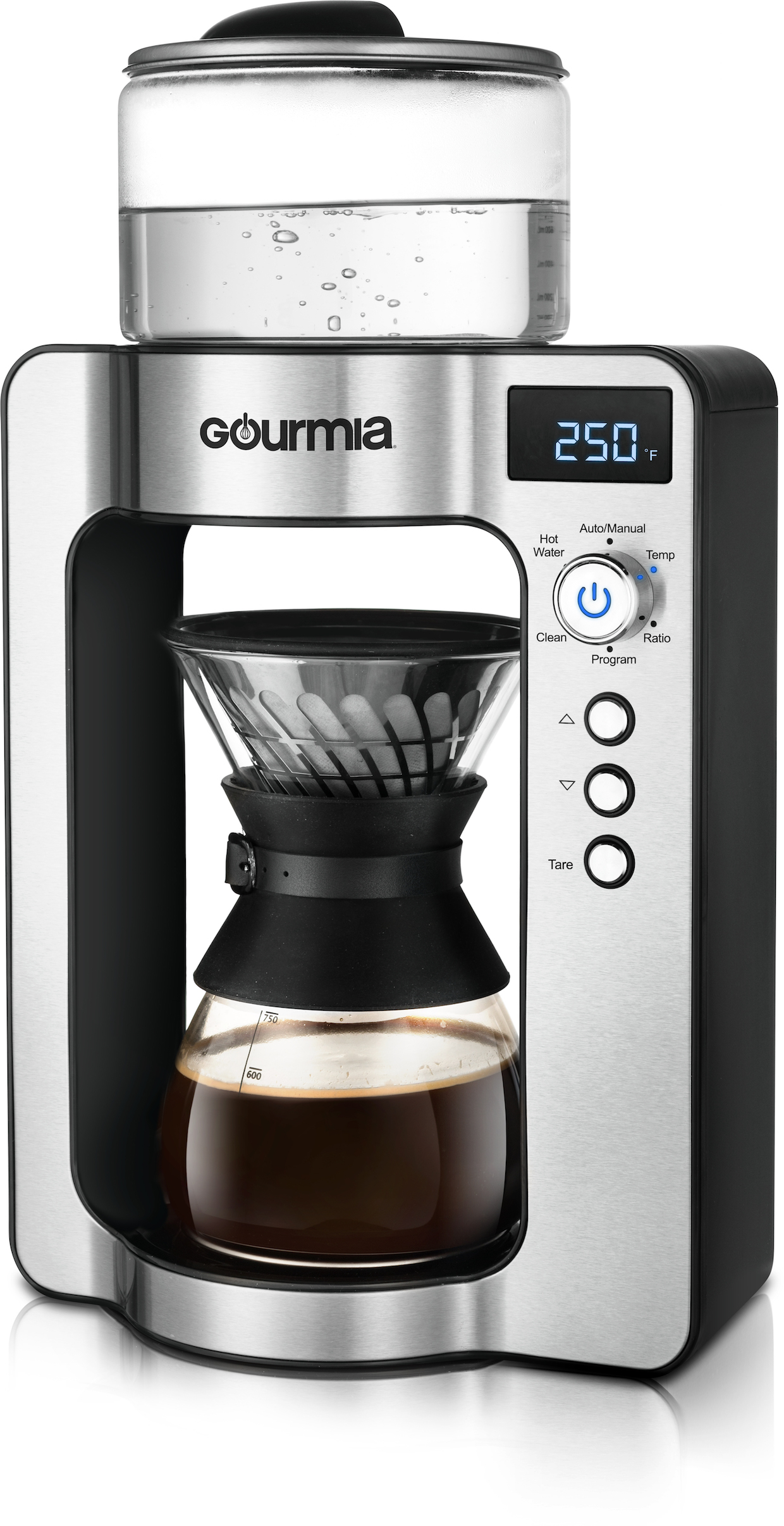 Gourmia coffee home brewing pourover