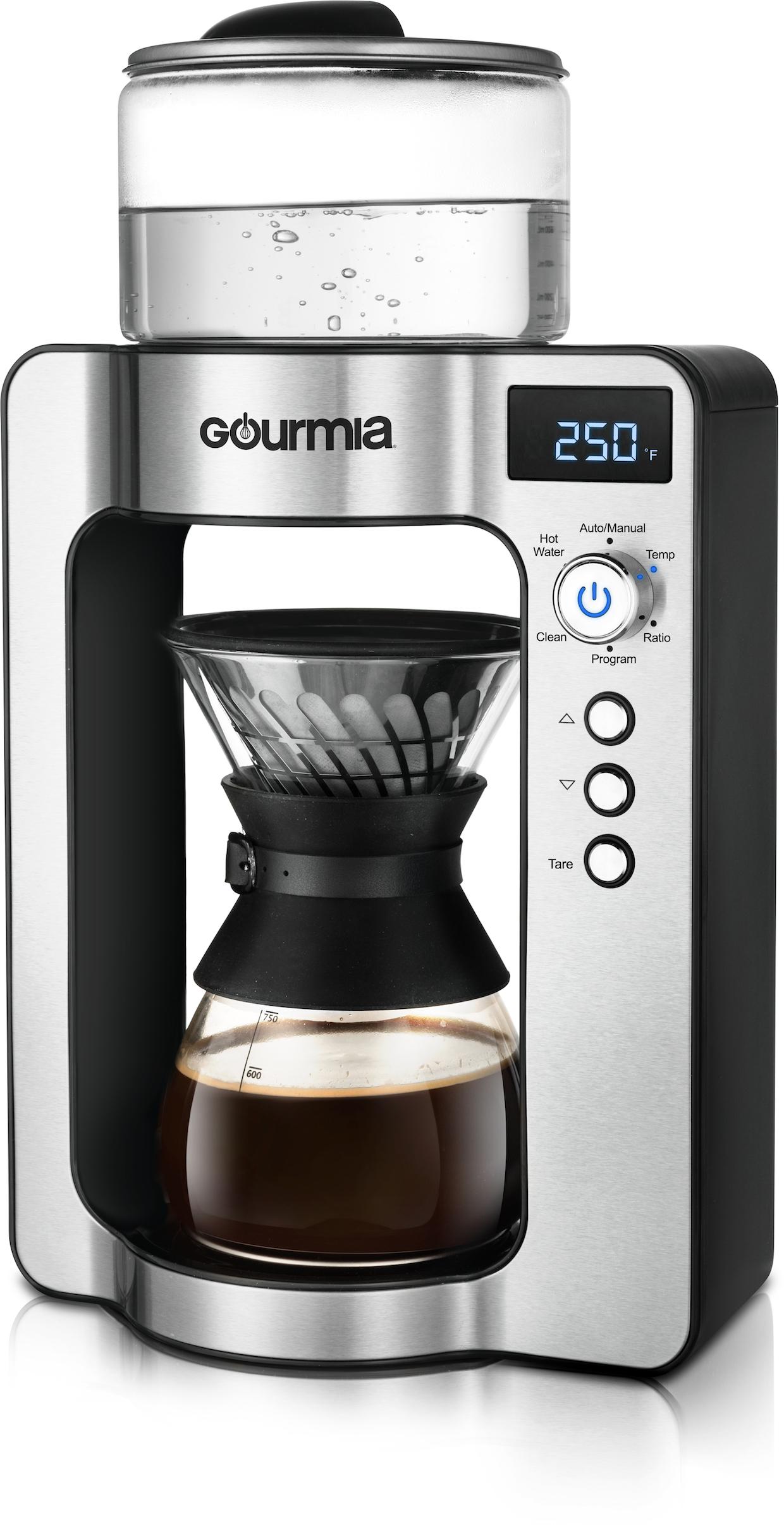 Gourmia coffee home brewing pourover
