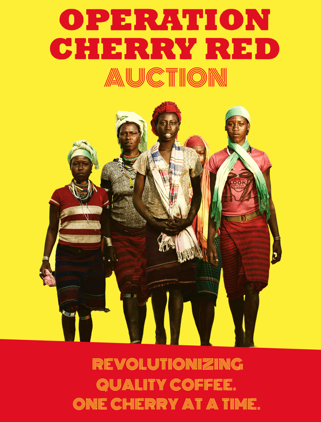 Operation Cherry Red coffee auction ethiopia trabocca