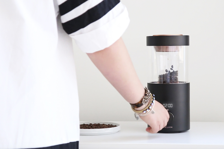 kelvin coffee roaster design controls