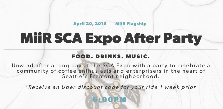 Miir Expo Party