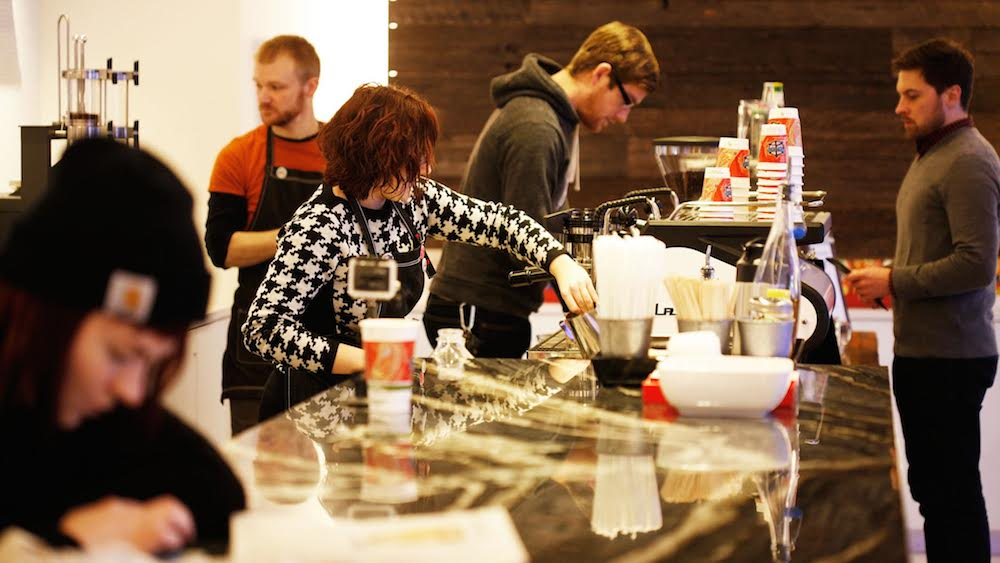 Peace Coffee bar minneapolis
