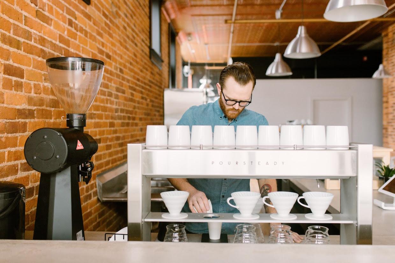 Civil House Coffee Kalamazoo MI poursteady