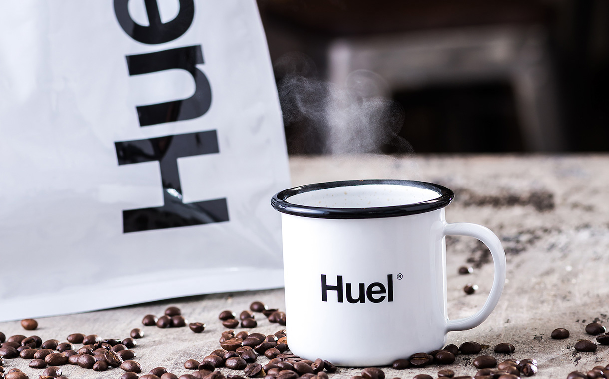 Huel coffee powder