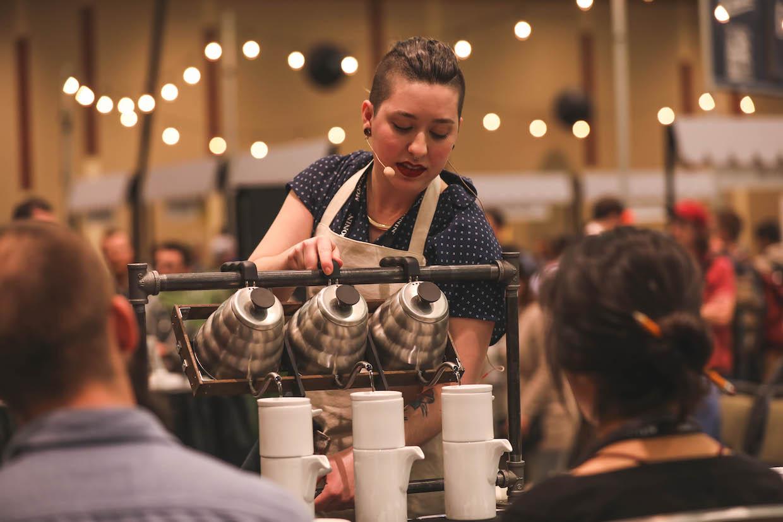 Rebecca Woodard, George Howell Coffee