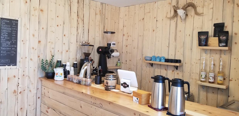 big iron coffee bar