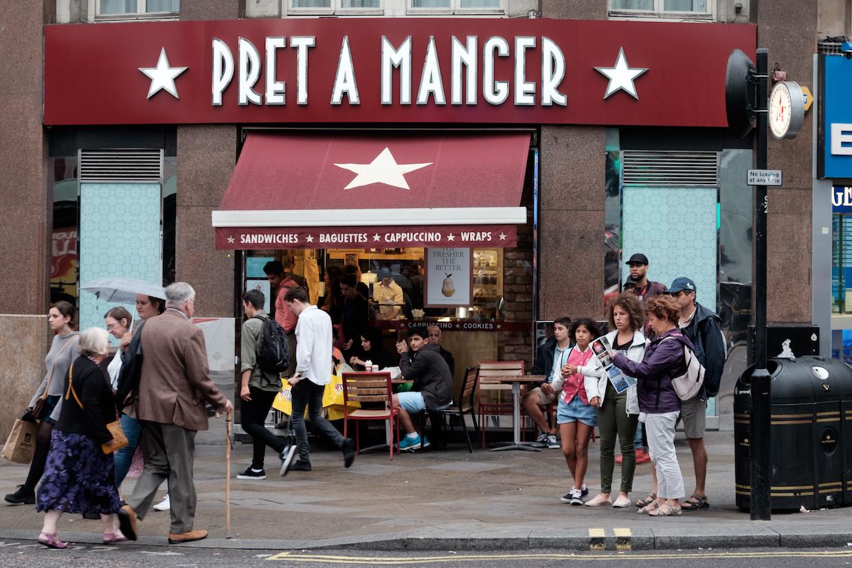 pret a manger coffee