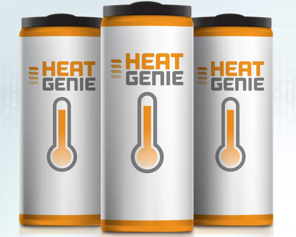 HeatGenie self-heating can